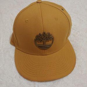 Timberland snapback hat.